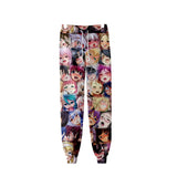 Anime Ahegao 3D Printed Casual Jogger Pants