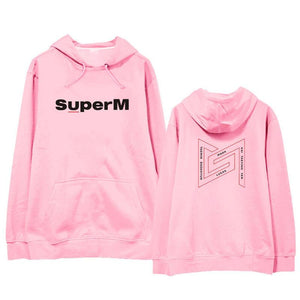 Kpop Super M Fashion Casual Hoodie For Fans