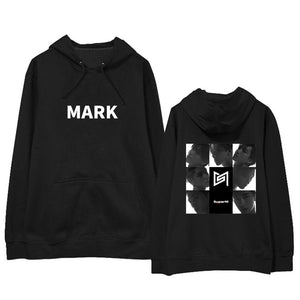 SuperM MARK Hoodie With Motif