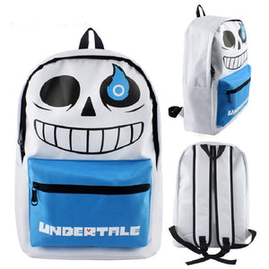 Undertale  Backpack School Bags  Laptop Bag For Girls and Boys Sans