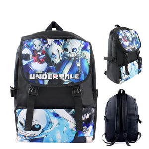 Undertale  Backpack School Bags Waterproof Backpack For Girls and Boys Sans Thicken