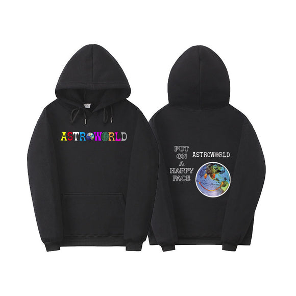 Travis Scott Astroworld  Enjoy The Ride Pullover Hoodie