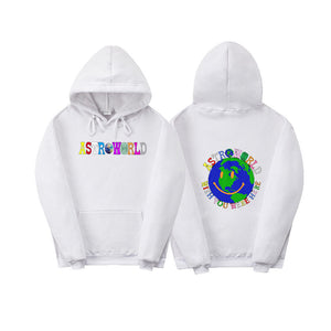 Travis Scott Astroworld Youth Teens Fashion Pullover Sweatshirt