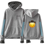 Lil Nas X Boys & Girls Fake Two Pieces Long Sleeve Hoodies Sweatshirt Cotton