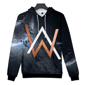 Alan Walker DJ 3D Print Hoodies For Girls&Boys Cotton