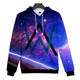 Alan Walker DJ 3D Print Hoodies For Girls&Boys