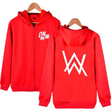 Alan Walker On My Way Zipper Hoodie Jacket Unisex