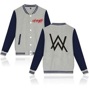 Alan Walker On My Way Baseball Jersey With Full Button