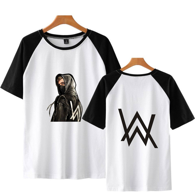 Alan Walker On My Way T Shirt With Short Raglan Sleeves In A