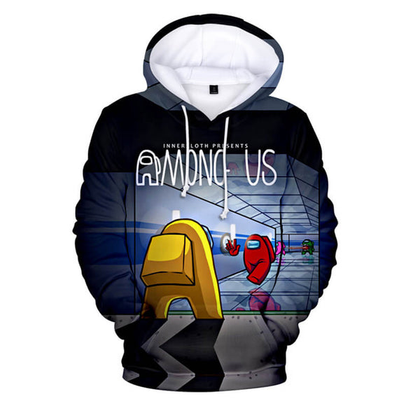 Among Us Game 3D Printed Fashion Hoodie