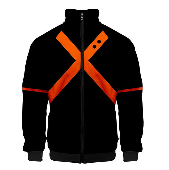 My Hero Academia Zip Jacket Katsuki Bakugou Jacket