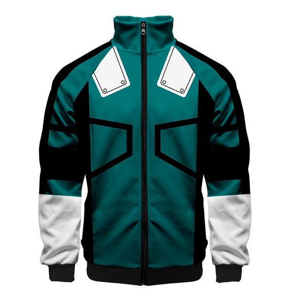 Anime Jacket My Hero Academia Zip Jacket
