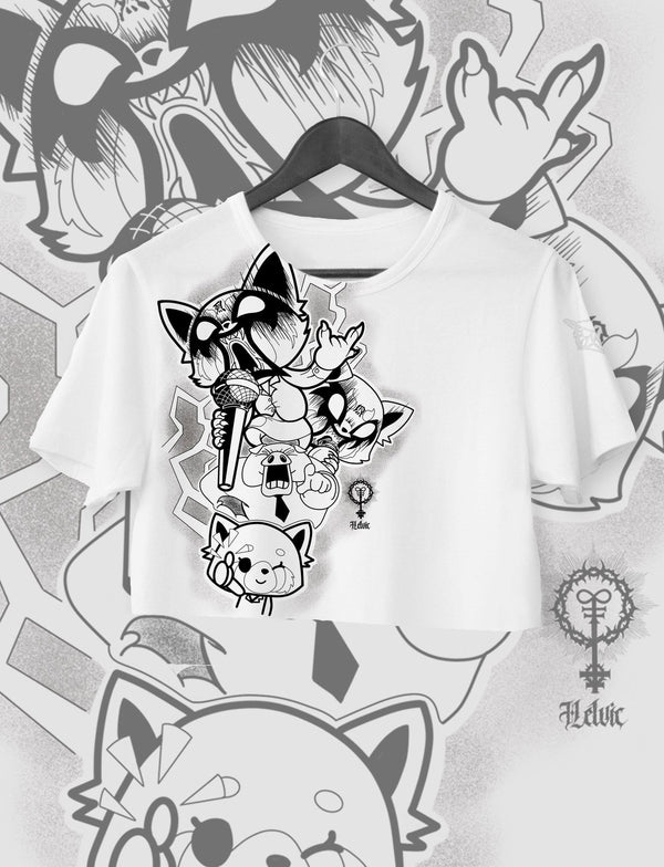 CROP TOP AGGRETSUKO