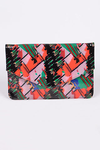 Vibrant Color Clutch