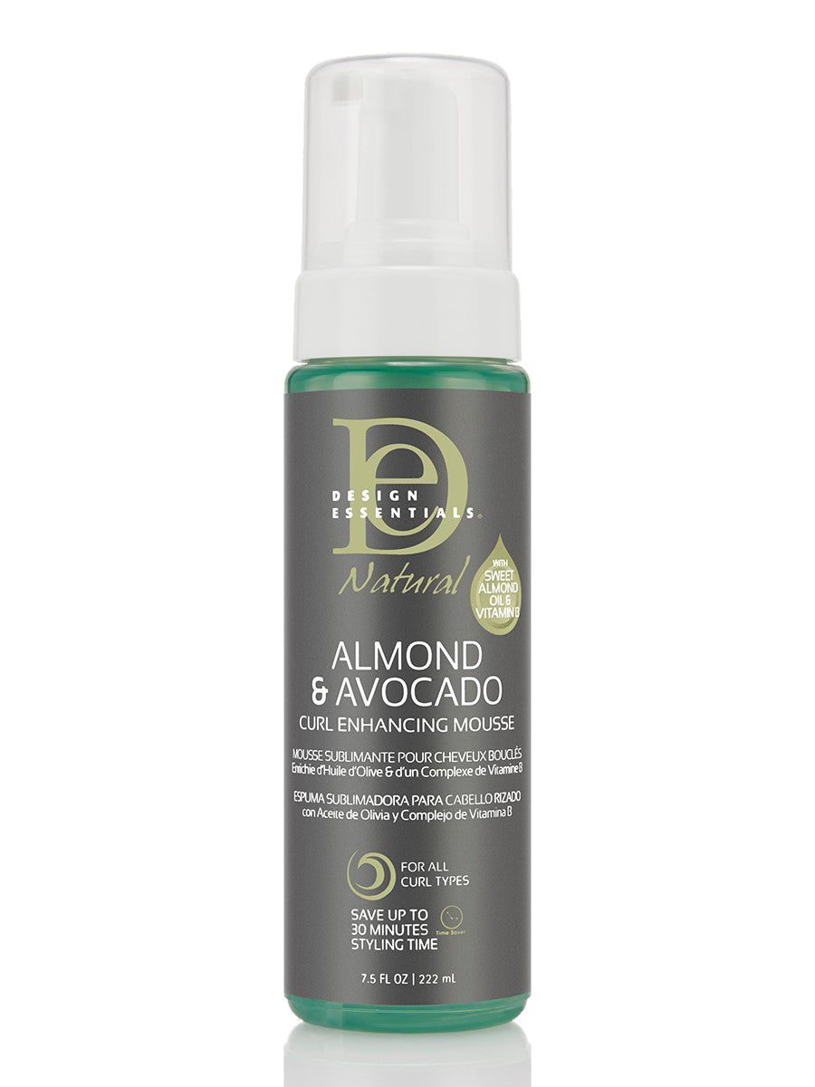 Design Essential Almond & Avocado Curl Enhancing Mousse