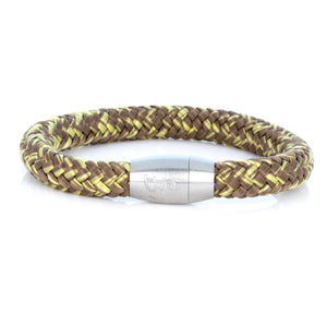 Steel & Rope | Fisherman Brown/Gold