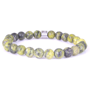 Steel & Stones | Yellow Jasper