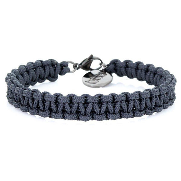 Mini Cord | Traditional Anthracite - Bad-Ass Bracelets