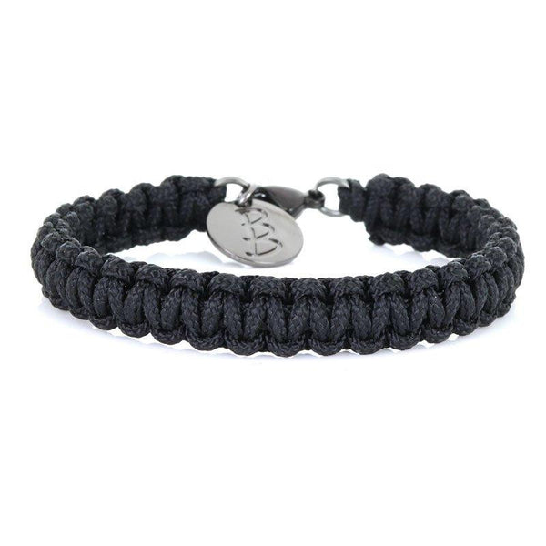 Mini Cord | Traditional Black - Bad-Ass Bracelets