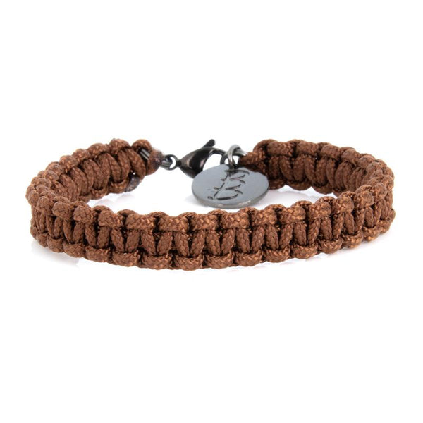 Mini Cord | Traditional Brown - Bad-Ass Bracelets