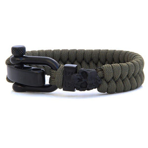 Steel & Cord | Black Zombie - Bad-Ass Bracelets
