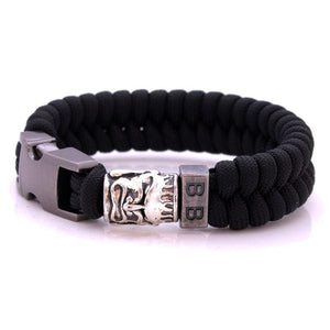 Steel & Cord | Buddha - Bad-Ass Bracelets