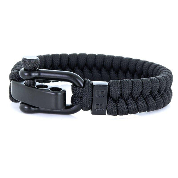 Steel & Cord | Essential Black - Bad-Ass Bracelets