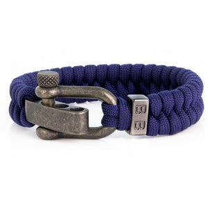 Steel & Cord | Essential Blue - Bad-Ass Bracelets