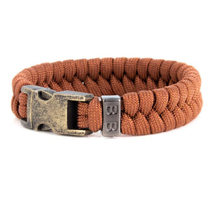 Steel & Cord | Essential Rust - Bad-Ass Bracelets