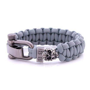 Steel & Cord | Grey Zombie - Bad-Ass Bracelets