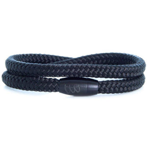 Steel & Rope | Mariner Black - Bad-Ass Bracelets