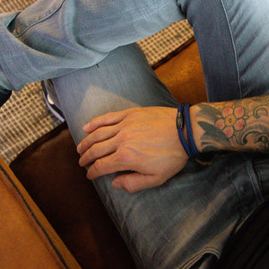 Steel & Rope | Mariner Blue - Bad-Ass Bracelets