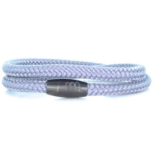 Steel & Rope | Mariner Grey - Bad-Ass Bracelets