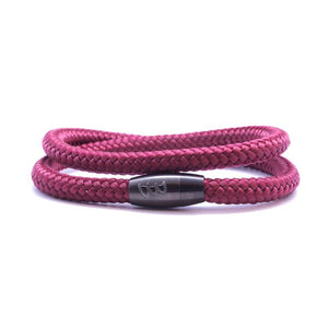 Steel & Rope | Mariner Red - Bad-Ass Bracelets