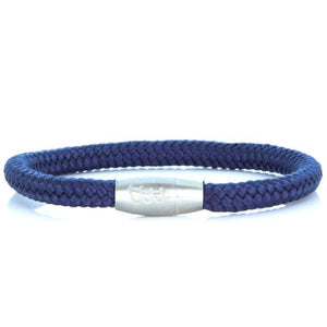 Steel & Rope | Sailor Blue - Bad-Ass Bracelets