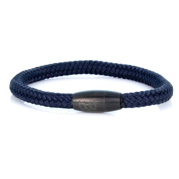 Steel & Rope | Sailor Deep Sea Blue - Bad-Ass Bracelets