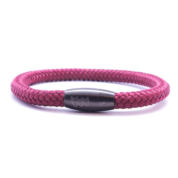 Steel & Rope | Sailor Red - Bad-Ass Bracelets