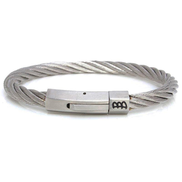Steel | Silver - Bad-Ass Bracelets