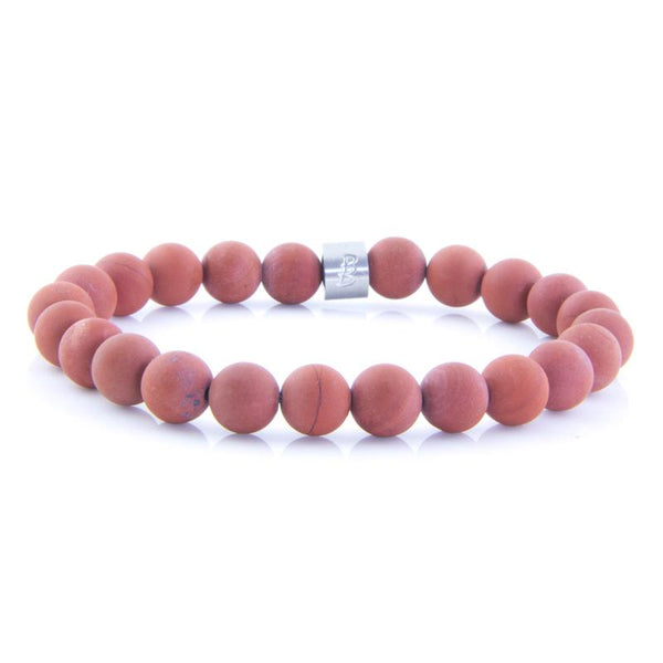 Steel & Stones | Red Jasper - Bad-Ass Bracelets
