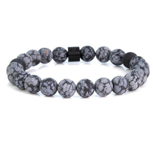 Steel & Stones | Snowflake - Bad-Ass Bracelets