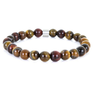 Steel & Stones | Tiger Eye - Bad-Ass Bracelets