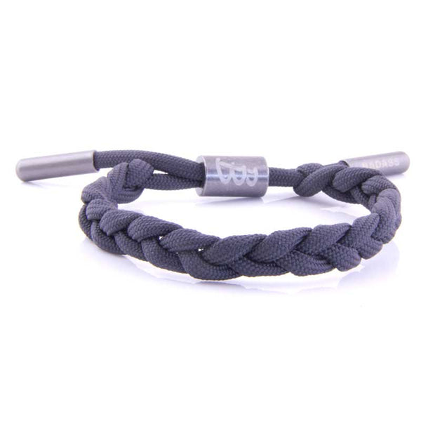 Twisted Cord | Anthracite - Bad-Ass Bracelets