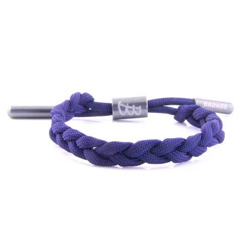 Twisted Cord | Blue - Bad-Ass Bracelets