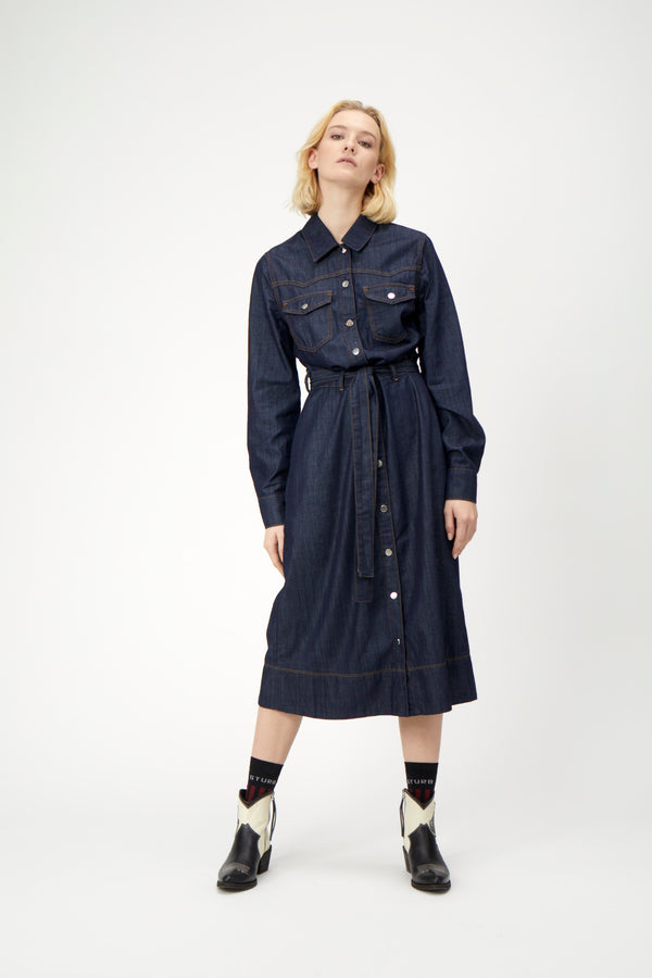 Tinka denim dress