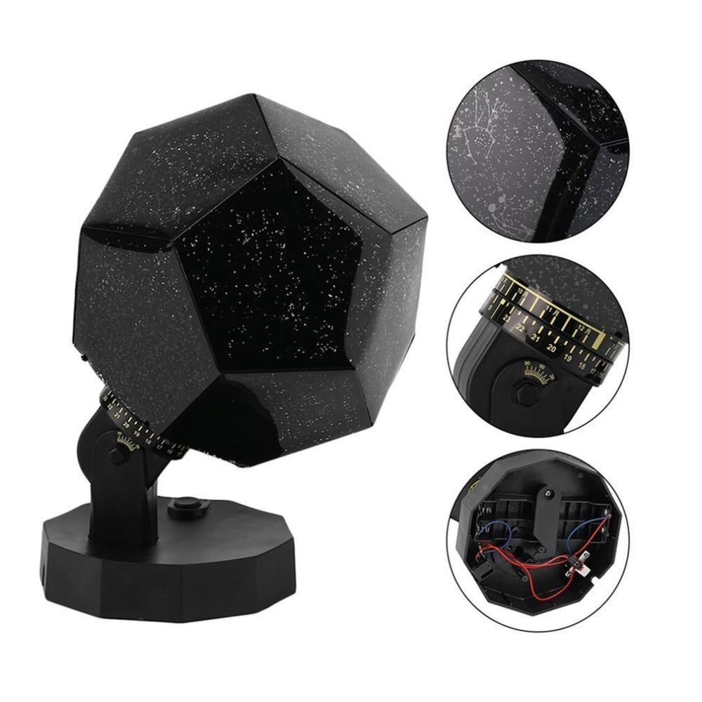 Scientific Projection Lamp LED Highlighting Romantic Four Seasons Star Projector