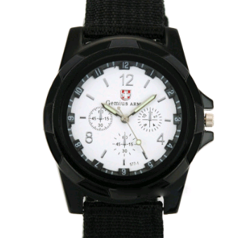 Cloth Belt Weaving Belt Military Watch Sea and Land Air Force Movement Quartz Military Watch