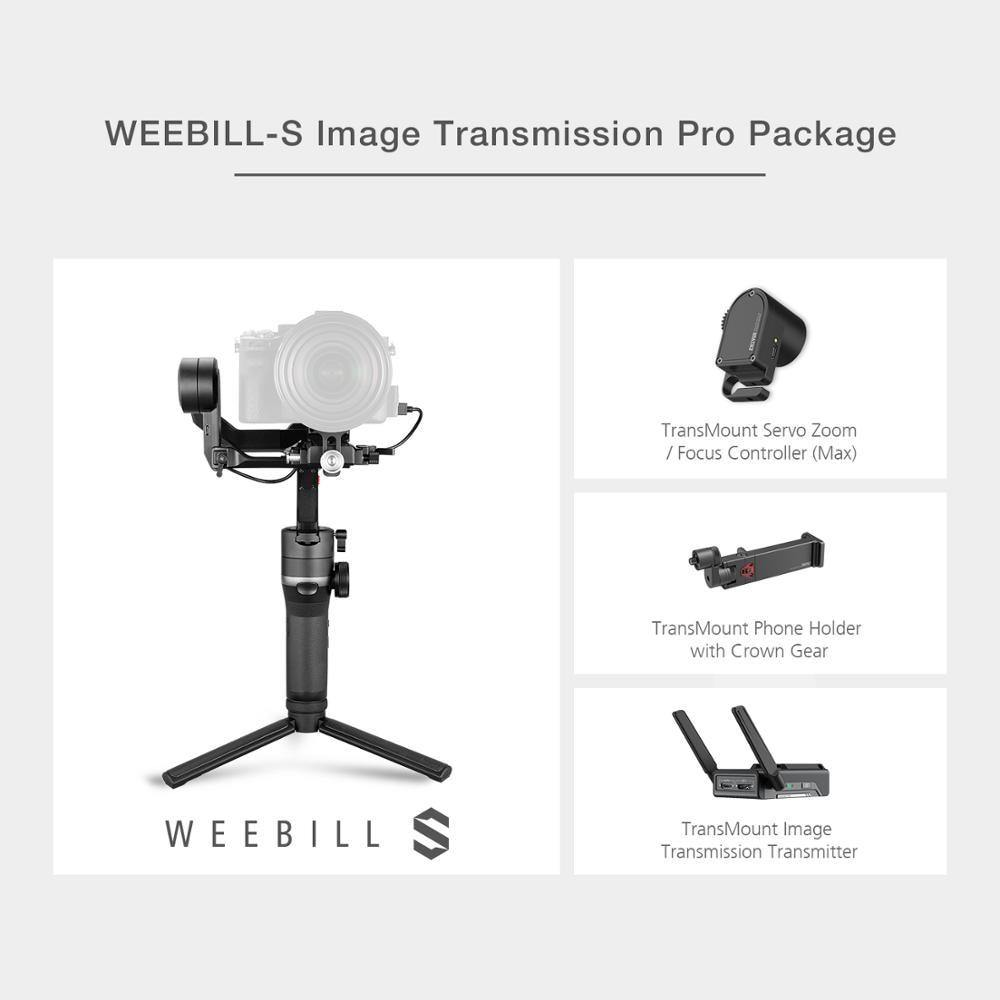 Weebill S 3-Axis Mirrorless Camera OLED Display for Canon Sony - Shop@Peterpan Store