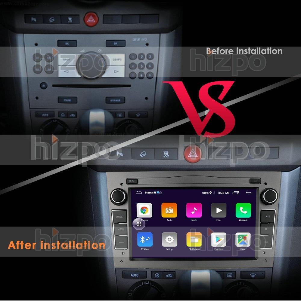 Android Car Mp3 4 Player 10 2 DIN CAR GPS for opel Vauxhall Astra H G J Vectra Antara
