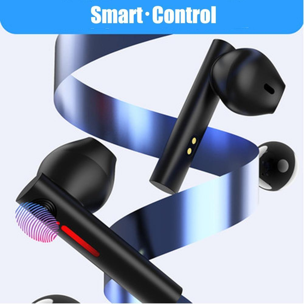 Mini LED Bluetooth 5.0 Wireless Earphones Super Bass Sport Noise Reduction Earbuds - Shop@Peterpan Store