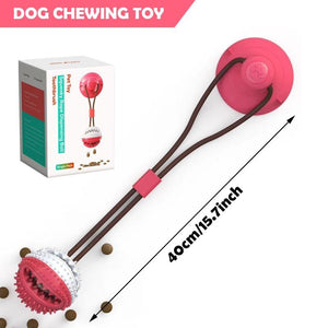 Pet Dog Toys Ball Silicon Suction Cup Tugs Tooth Cleaning Dog Toothbrush - Shop@Peterpan Store
